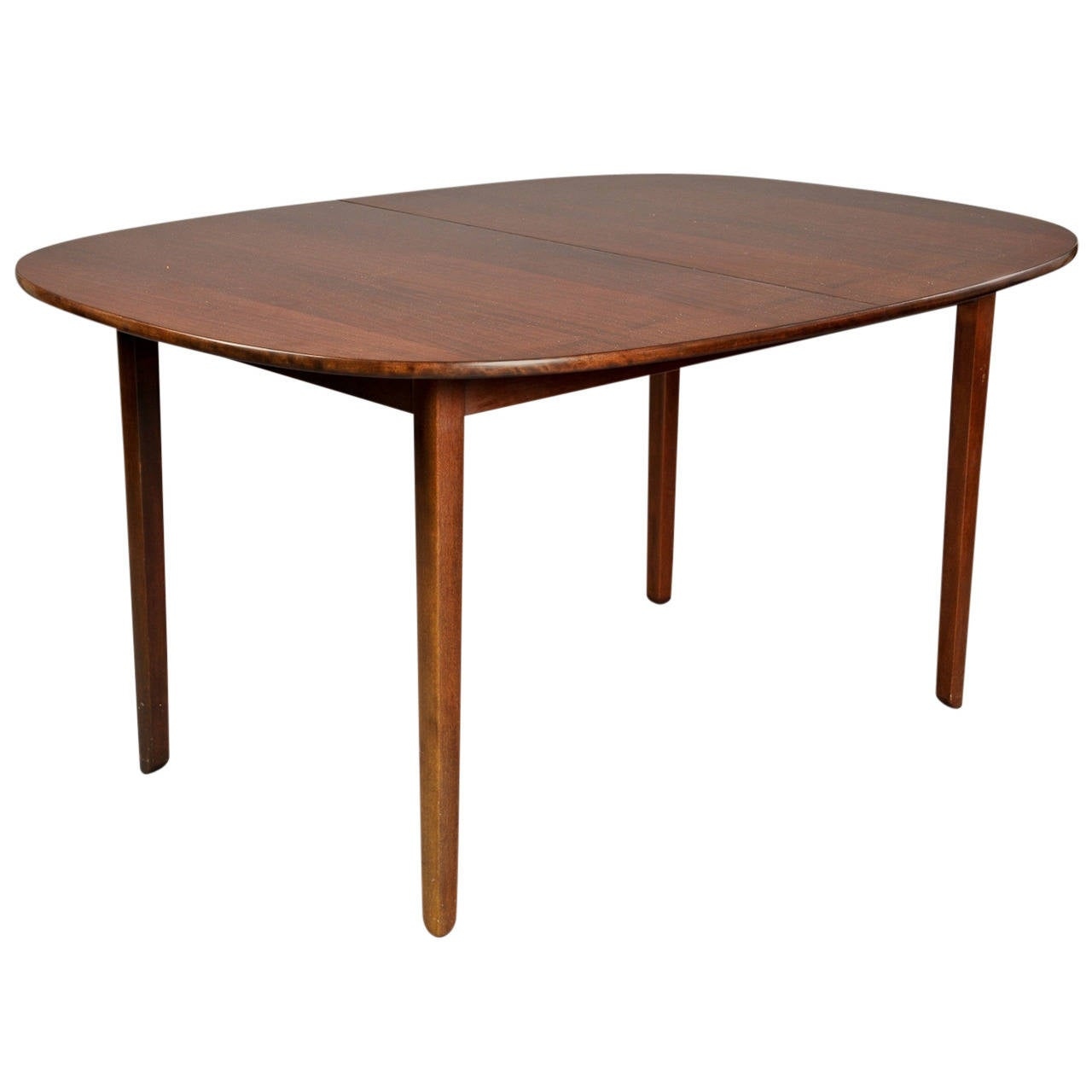 expandable dining table in mahogany by ole wanscher for sale at