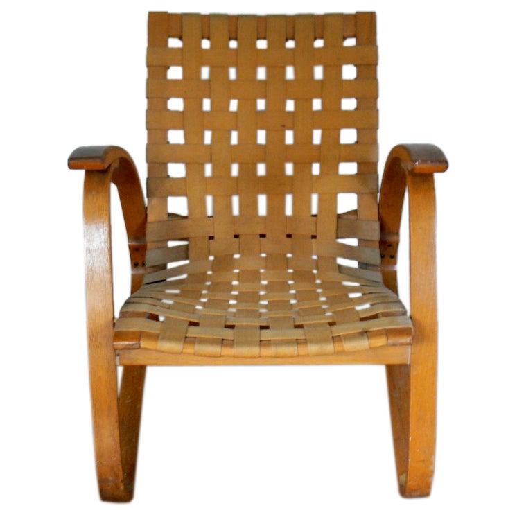 Bentwood chair vintage - Rare Vintage Jan Vanek Art Deco Bentwood Chair At 1stdibs