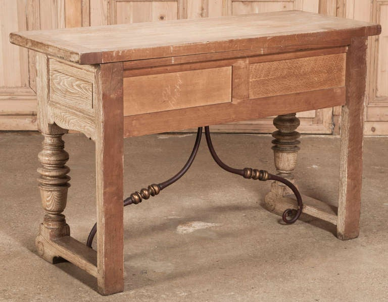 Rustic Oak Sofa Table Oak Console/sofa Table