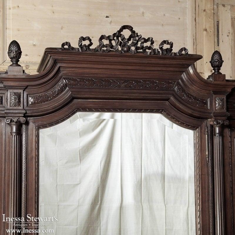 antique louis xvi mahogany armoire by bellanger of paris 6 antique mahogany armoire