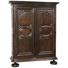 Early 18th Century Country French Armoire