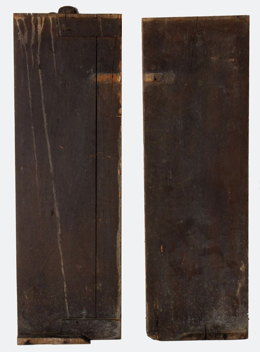 Old Wood Wall Paneling: Pair Antique Carved Wood Wall Panels At 1stdibs