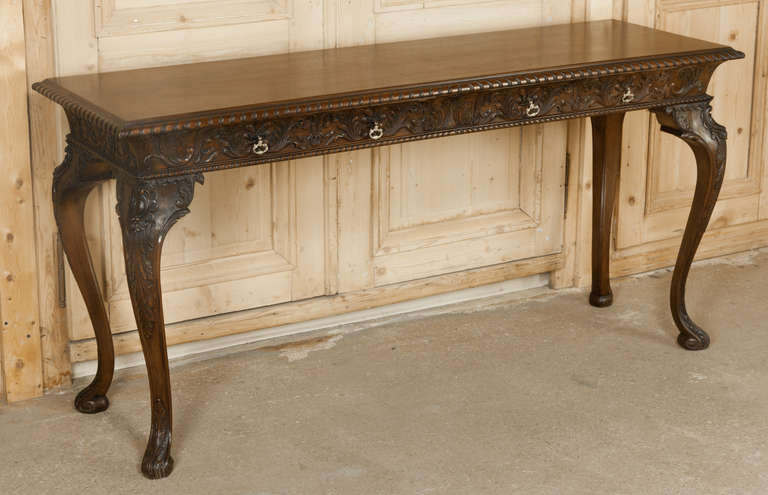 Antique Chippendale Sofa Table At 1stdibs