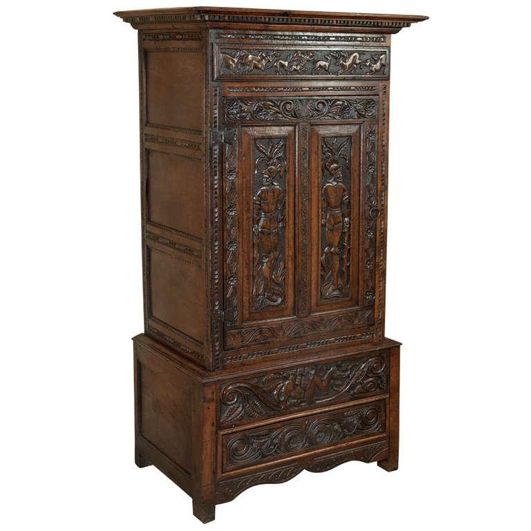 antique french renaissance homme debout at 1stdibs. Black Bedroom Furniture Sets. Home Design Ideas