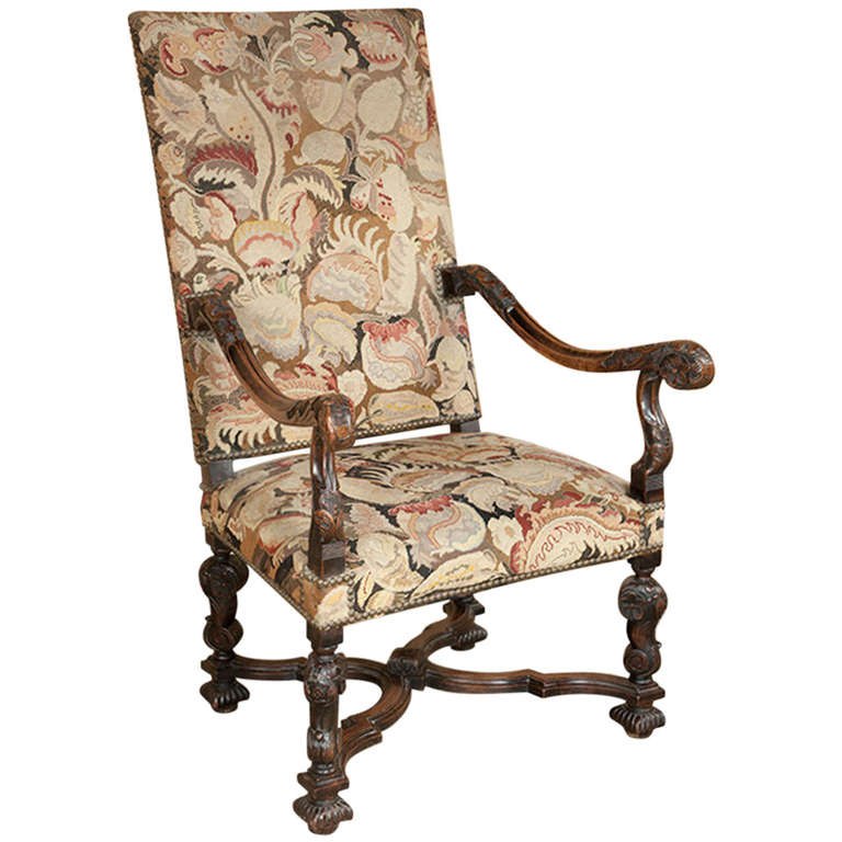 Louis Xiv Armchair 28 Images A Louis Xiv Armchair At