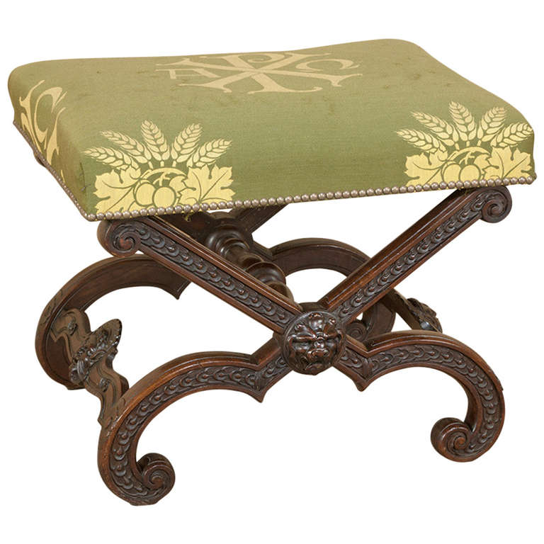 Antique french vanity stool at 1stdibs - Antique vanity stools ...