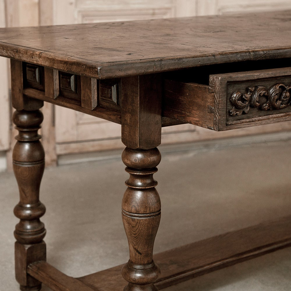 Antique Rustic Italian 18th Century Desk At 1stdibs
