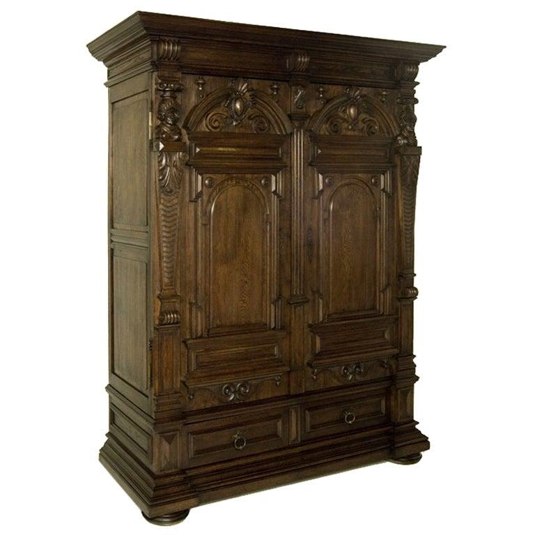 antique henri ii armoire at 1stdibs. Black Bedroom Furniture Sets. Home Design Ideas