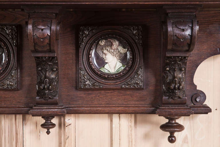 Antique Belgian Wall Shelf At 1stdibs