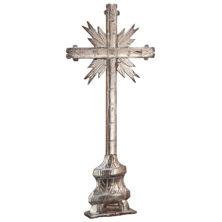 Italian Sofa Brent Cross: Antique Italian Giltwood Cross At 1stdibs