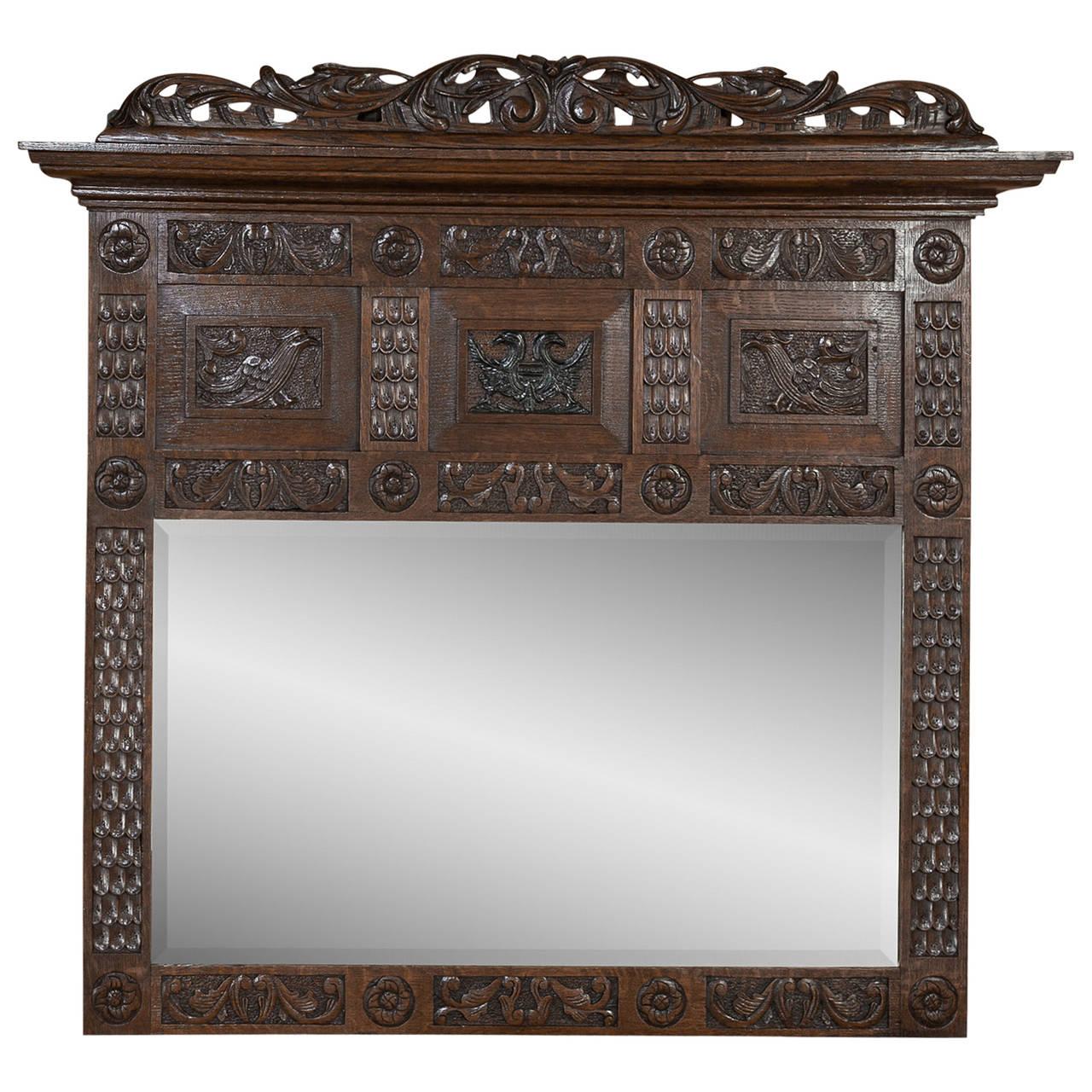 19th Century Dutch Renaissance Mirror