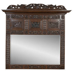 19th Century Dutch Renaissance Mirror
