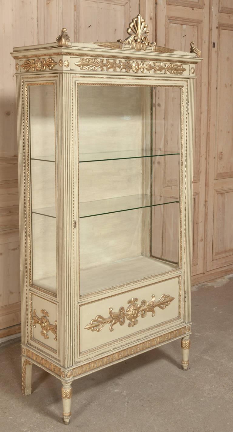 antique french napoleon iii vitrine at 1stdibs. Black Bedroom Furniture Sets. Home Design Ideas