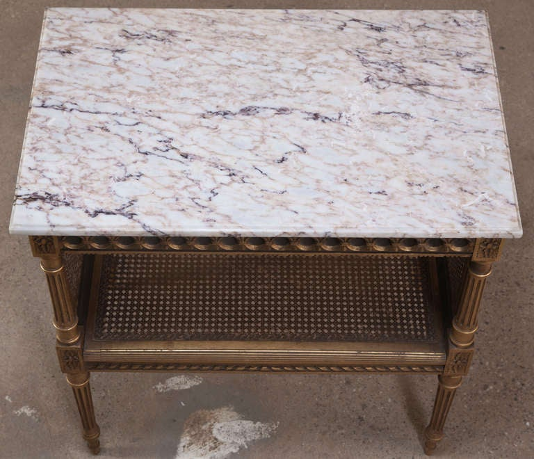 Antique French Louis Xvi Tea Serving Table At 1stdibs
