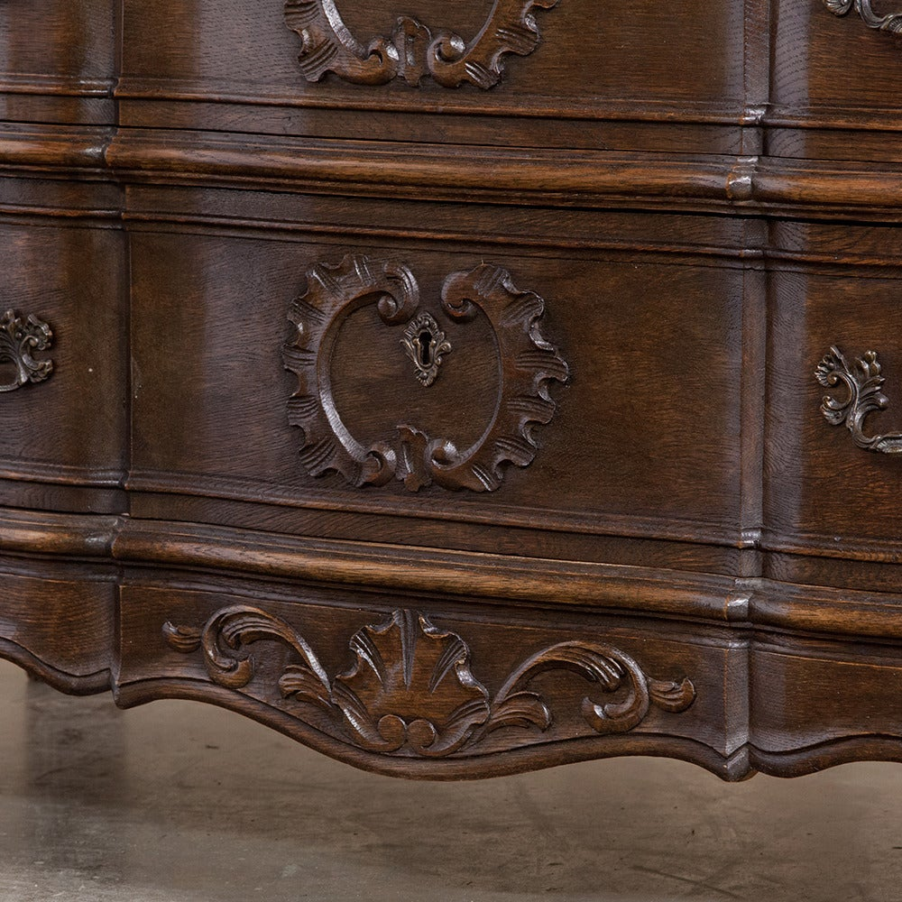 19th century country french baroque commode at 1stdibs for 19th century french cuisine