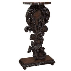 Antique French 18th century Rococo Pedestal