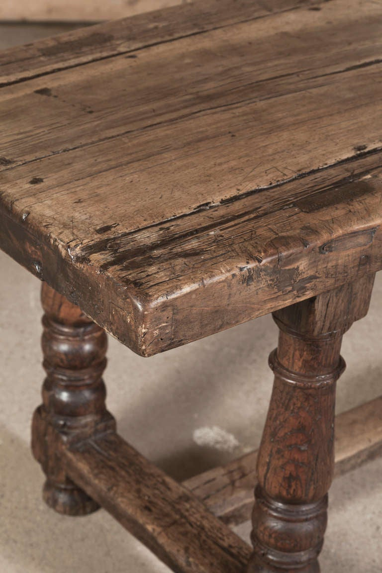 19th Century Antique Rustic Farm Table At 1stdibs