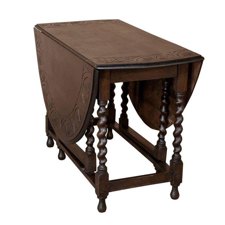 oak drop leaf table  gateleg drop leaf oak table at