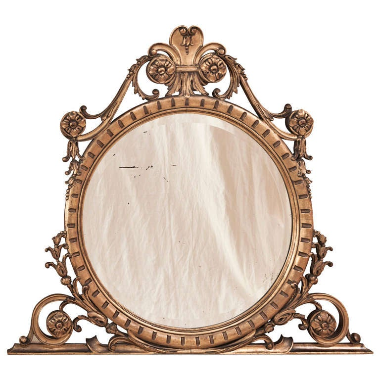 antique italian baroque giltwood mirror at 1stdibs