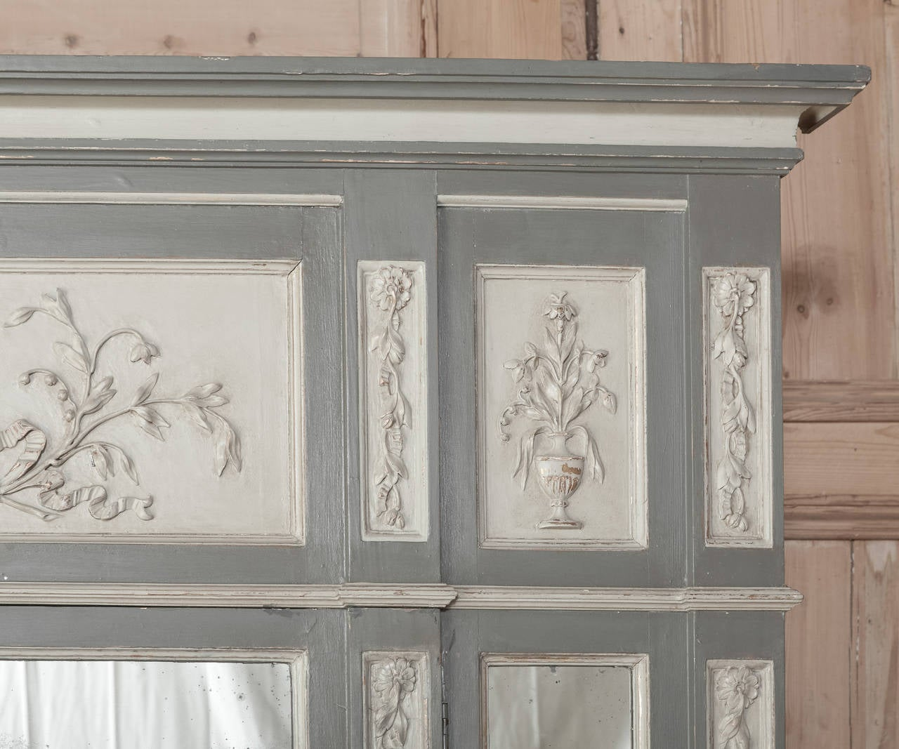 19th century painted french neoclassical parisienne for Secret doors for sale