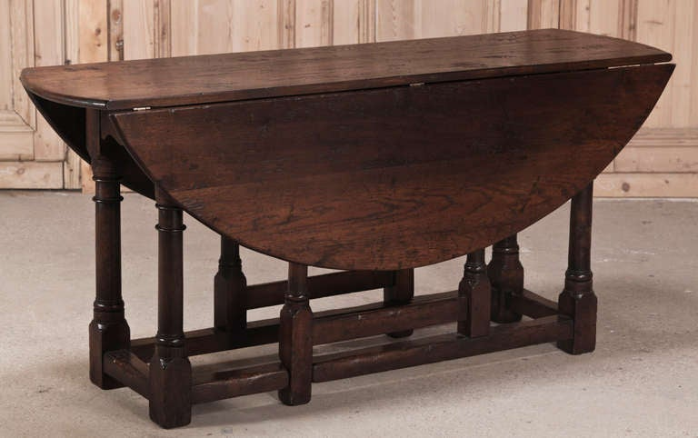 Antique Oval Drop Leaf Gateleg Table At Stdibs - Antique gateleg tables
