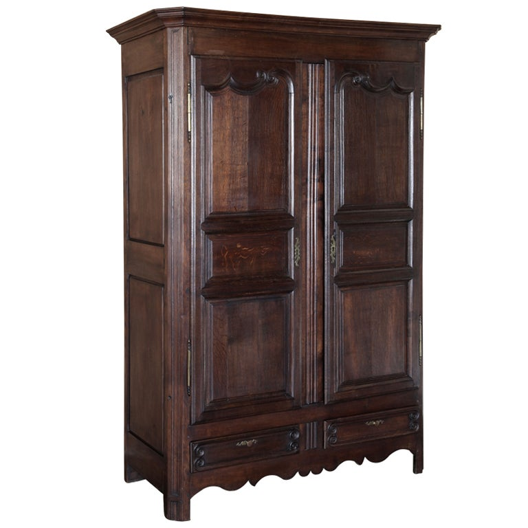 Antique French Provincial Armoire At 1stdibs