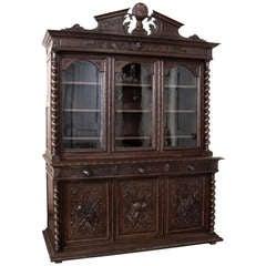 Antique French Renaissance Bookcase