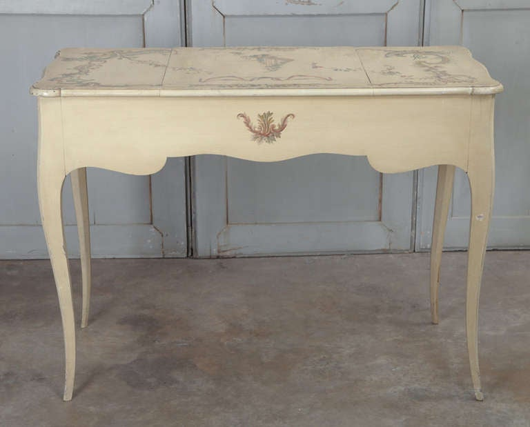 Vintage French Louis Xv Painted Vanity At 1stdibs