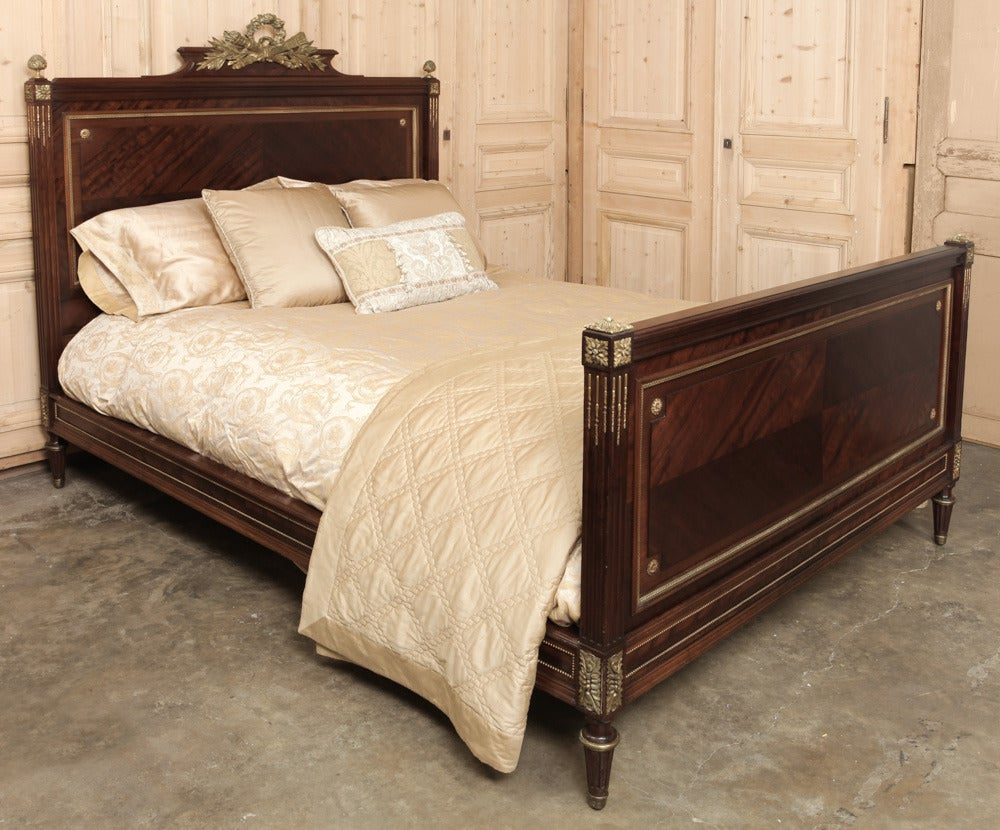Louis xvi bedroom furniture - Antique French Louis Xvi Bedroom Set Signed Bastet 2