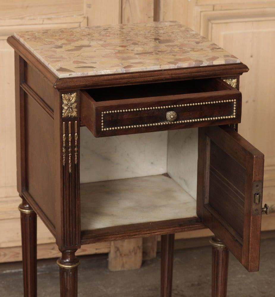 Antique French Louis XVI Bedroom Set Signed Bastet At