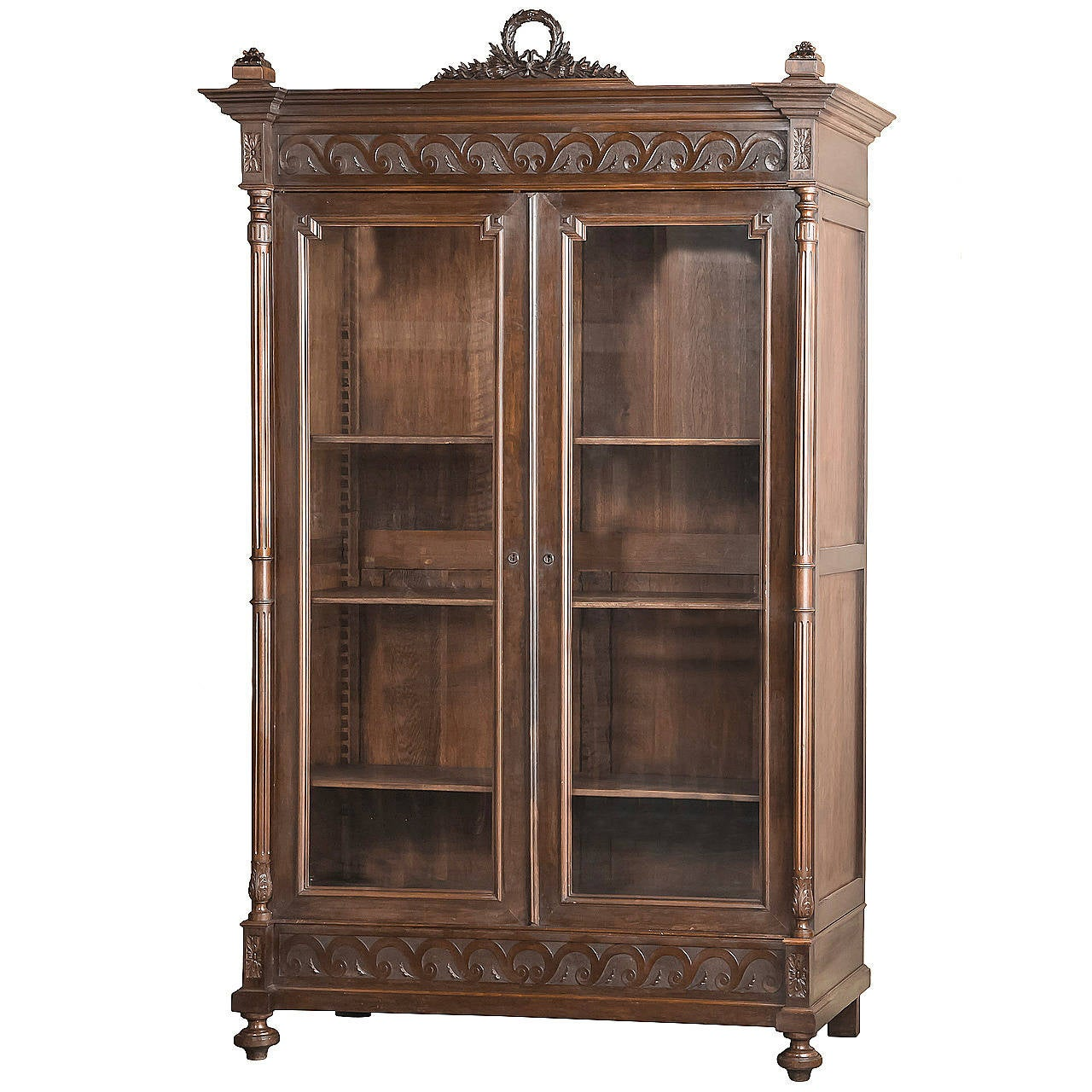 Antique French Louis Xvi Armoire At 1stdibs