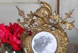 Antique Renaissance Cast Iron Picture Frame image 5