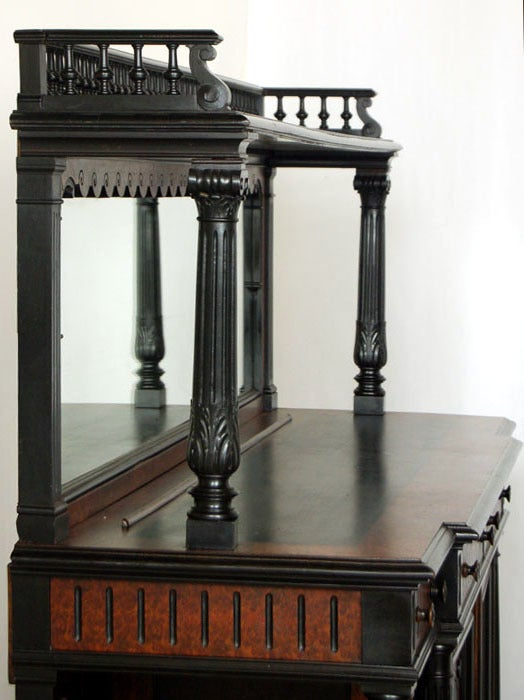 antique french napoleon iii period buffet at 1stdibs. Black Bedroom Furniture Sets. Home Design Ideas