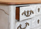 Antique Regence Painted Provencal Commode thumbnail 3