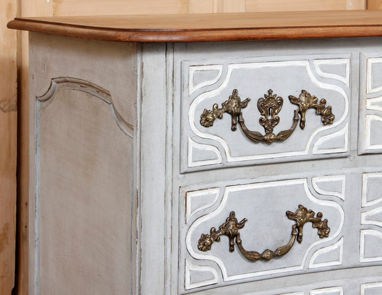 Antique Regence Painted Provencal Commode image 4
