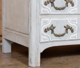 Antique Regence Painted Provencal Commode thumbnail 7