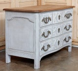Antique Regence Painted Provencal Commode thumbnail 8