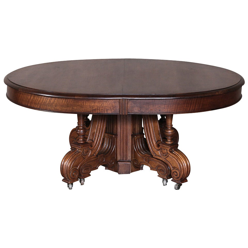 19th Century French Walnut Coffee Table At 1stdibs