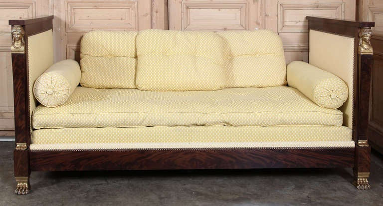 Antique 2nd Empire Period Day Bed 2