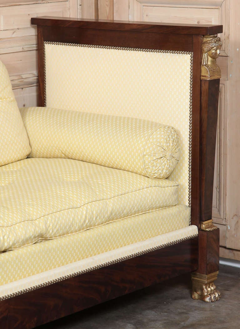 Antique 2nd Empire Period Day Bed 7