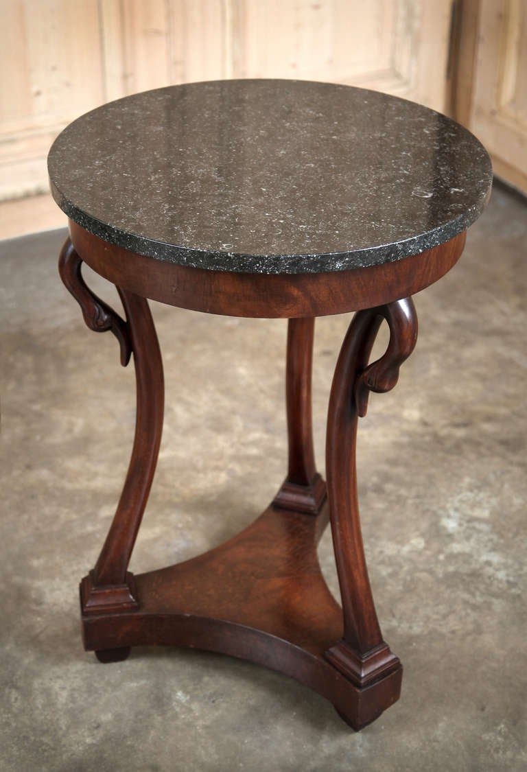 Antique Second Empire French Lamp Table At 1stdibs