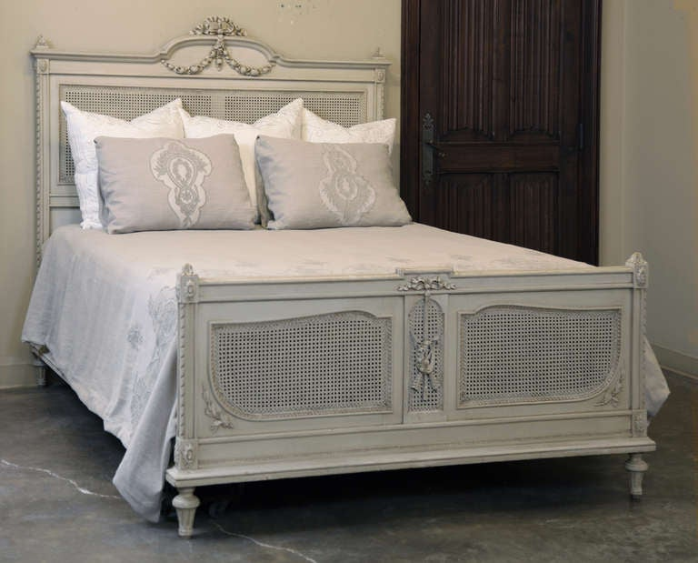 antique louis xvi painted bedroom set queen bed at 1stdibs