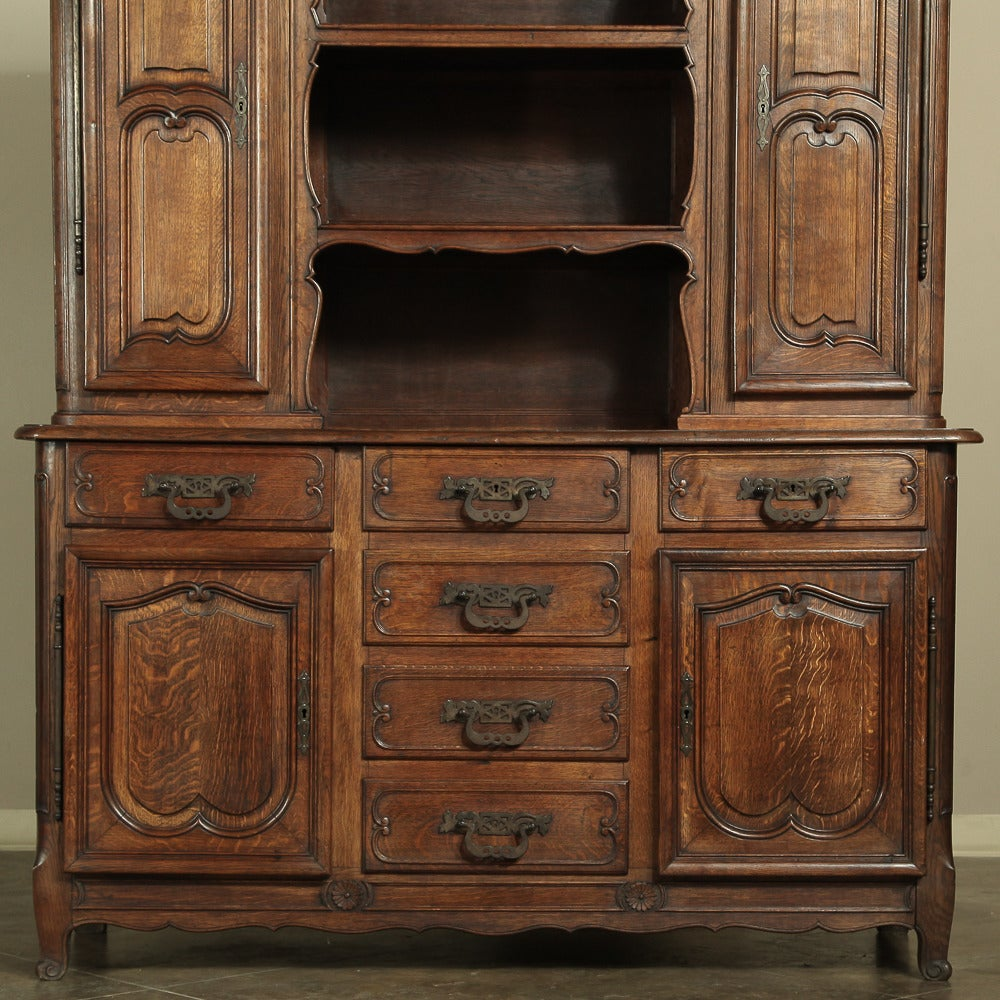 19th century country french buffet vaisselier at 1stdibs for Buffet vaisselier