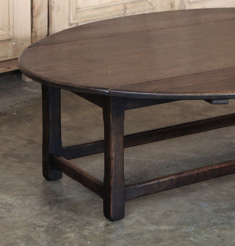 Antique rustic drop leaf coffee table at 1stdibs - Archives departementales 33 tables decennales ...