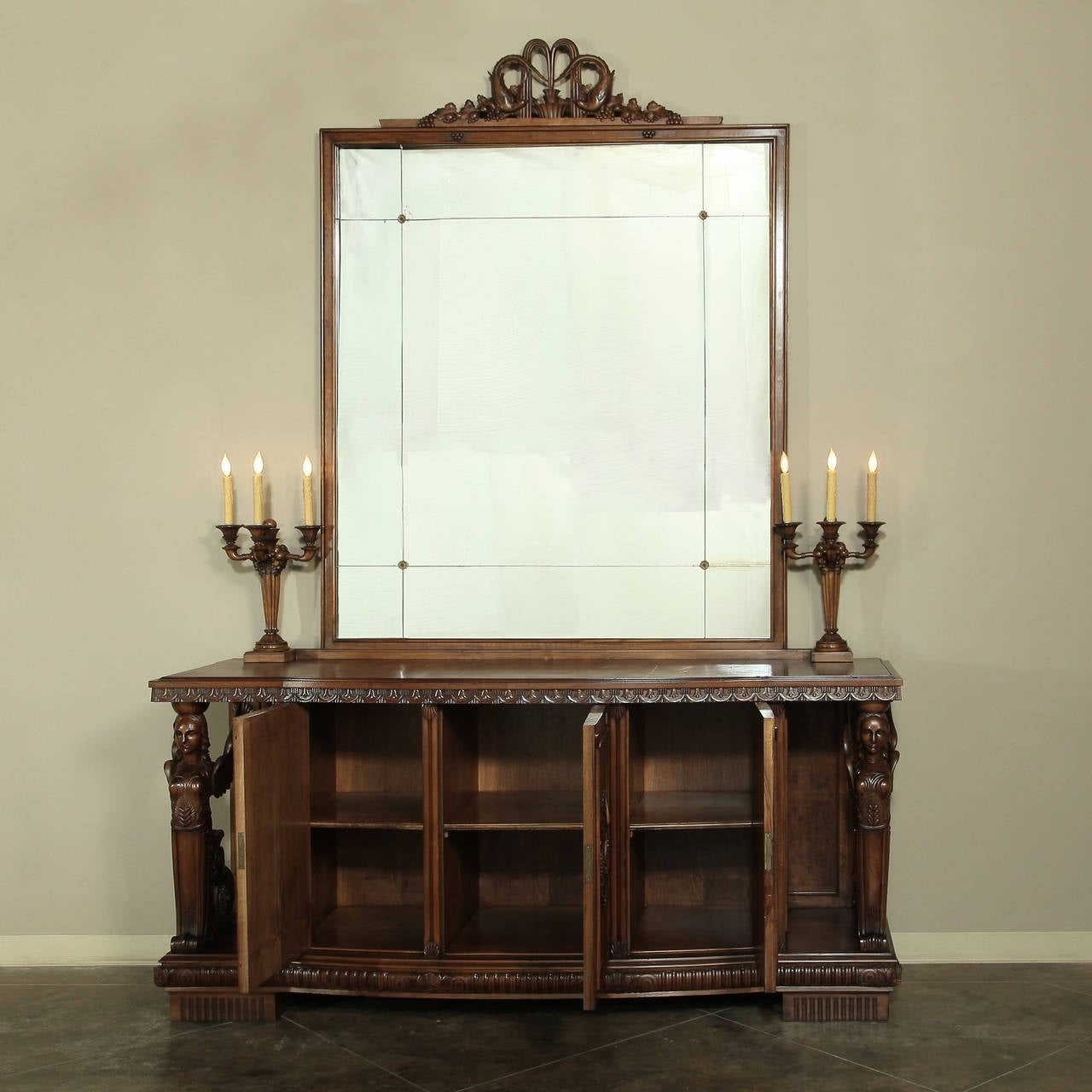 Vintage Dining Room Set: Vintage Neoclassical Dining Room Set For Sale At 1stdibs