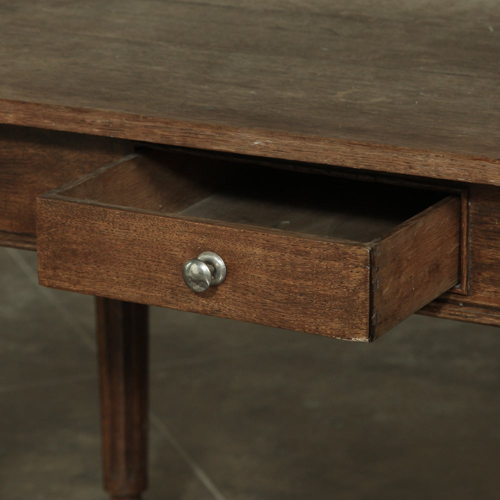 19th Century Rustic Country French Farm Table from Normandy  In Excellent Condition For Sale In Dallas, TX