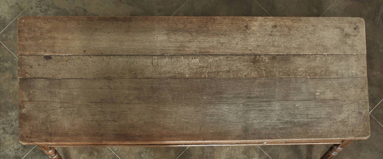 19th Century Rustic Country French Farm Table from Normandy  For Sale 4