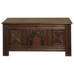 18th Century French Gothic Trunk