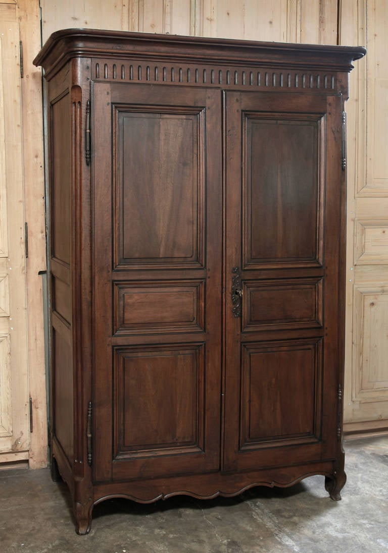 19th Century Directoire Walnut Armoire at 1stdibs