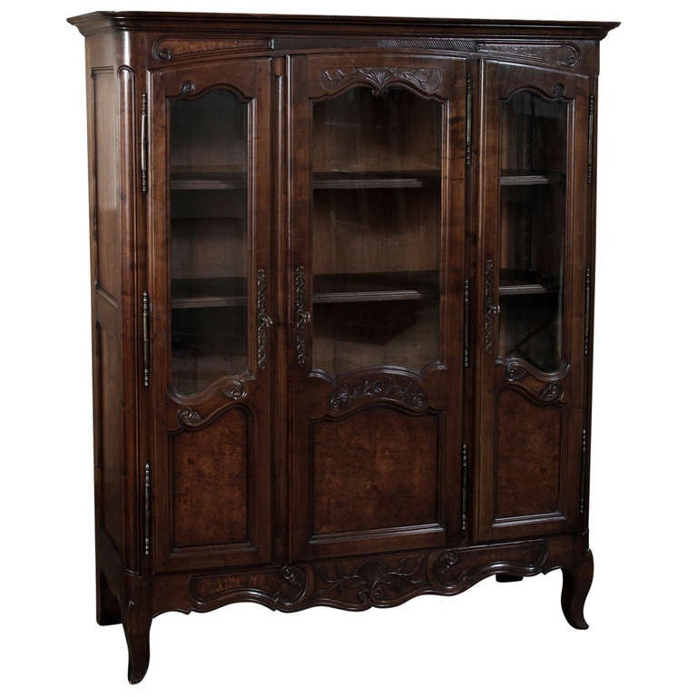 Antique Country French Vitrine From Bresse At 1stdibs